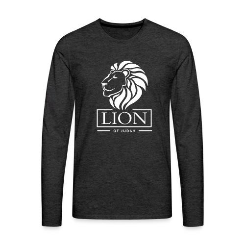 Lion of Judah - Rastafari - Männer Premium Langarmshirt