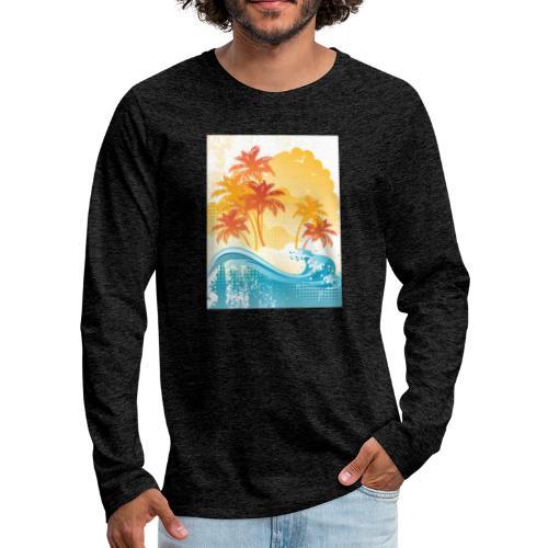 Palm Beach - Men's Premium Longsleeve Shirt