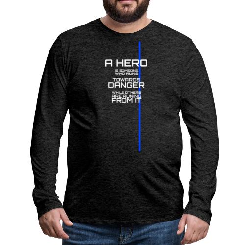 A Hero Tribute - T-shirt manches longues Premium Homme