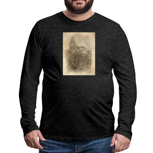 Baalberger Kirche - Männer Premium Langarmshirt