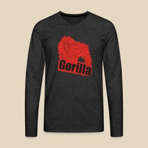 Red Gorilla - T-shirt manches longues Premium Homme