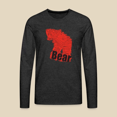 Red Bear - T-shirt manches longues Premium Homme