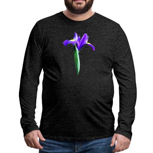 TIAN GREEN Garten - Iris 2020 02 - Männer Premium Langarmshirt