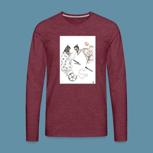 Samurai copia jpg - Maglietta Premium a manica lunga da uomo