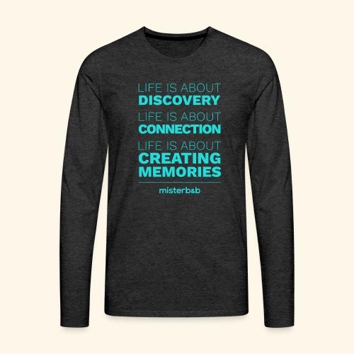 misterb&b - T-shirt manches longues Premium Homme
