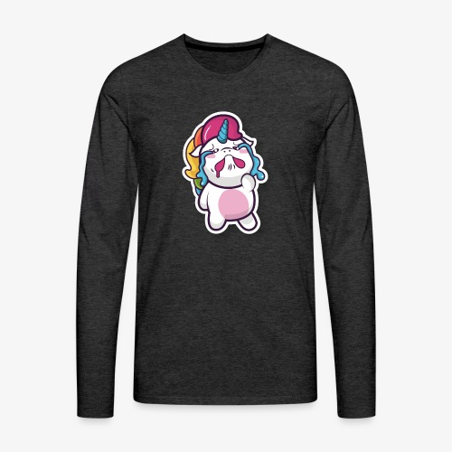 Funny Unicorn - Men's Premium Longsleeve Shirt