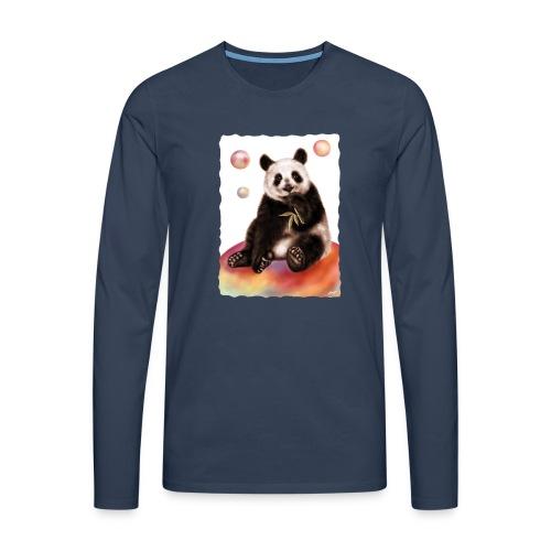 Panda World - Maglietta Premium a manica lunga da uomo