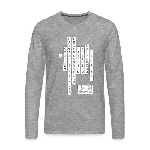 CAMISETA I BELIEVE - Camiseta de manga larga premium hombre