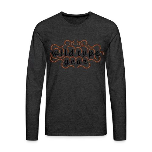 wtg stiched 2 - Men's Premium Longsleeve Shirt