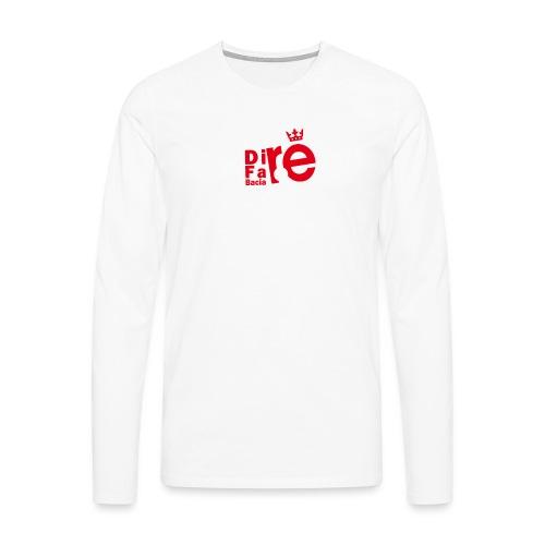 direbla - Maglietta Premium a manica lunga da uomo