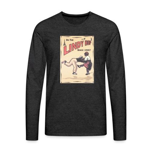 Do the Lindy Hop Since 1927 - Långärmad premium-T-shirt herr