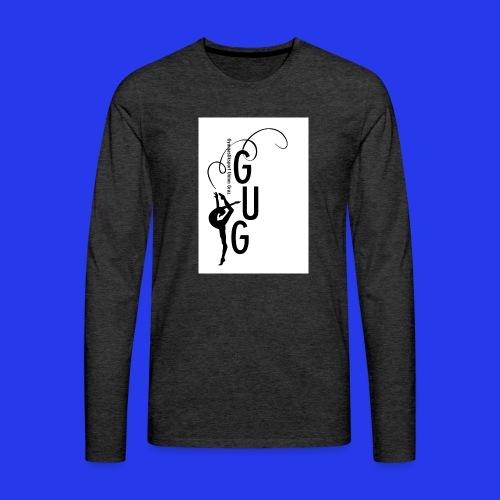 GUG logo - Männer Premium Langarmshirt