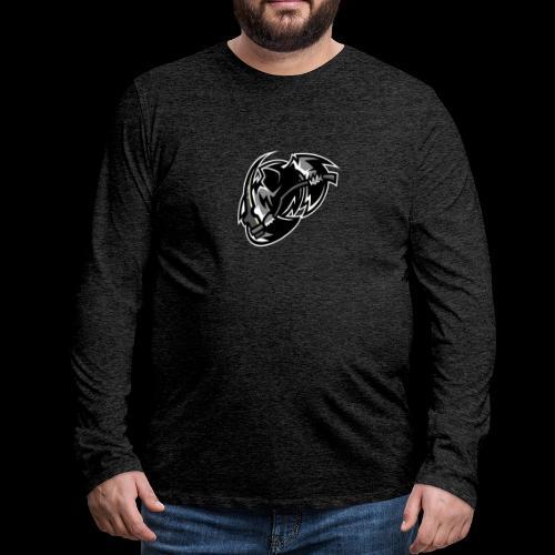 tsrschwarz weis - Männer Premium Langarmshirt