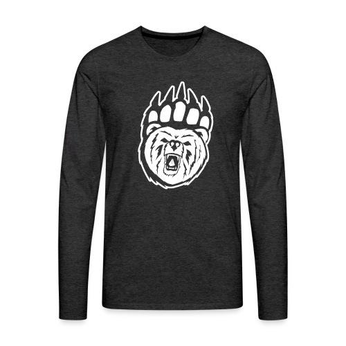 Dam T-shirt Svart/Rosa - Långärmad premium-T-shirt herr