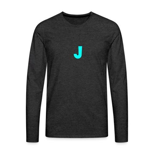 Jeffke Man T- Shirt - Mannen Premium shirt met lange mouwen