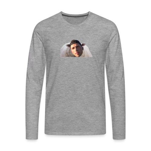 TVS het Armo Schaap en SHIT - Mannen Premium shirt met lange mouwen