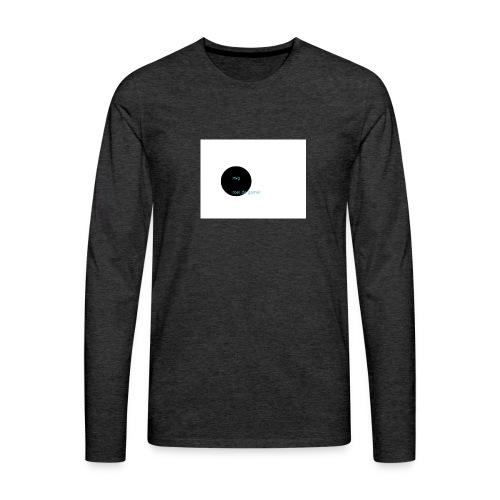 youtube logo - Mannen Premium shirt met lange mouwen