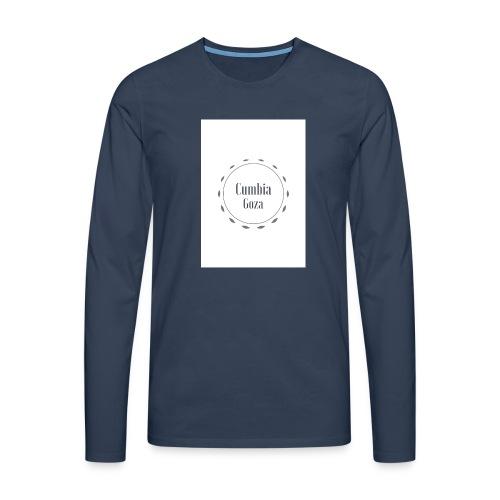 cumbia goza - Mannen Premium shirt met lange mouwen