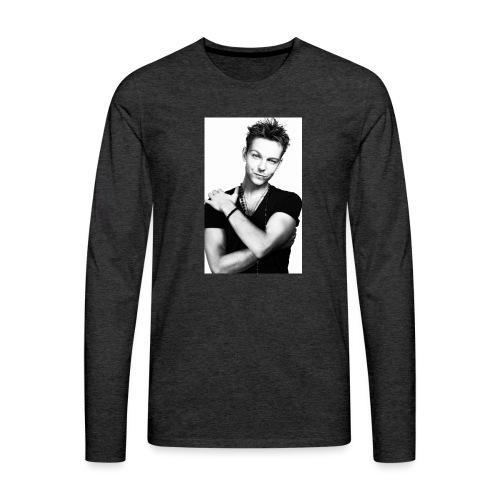 handsome guy - Men's Premium Longsleeve Shirt