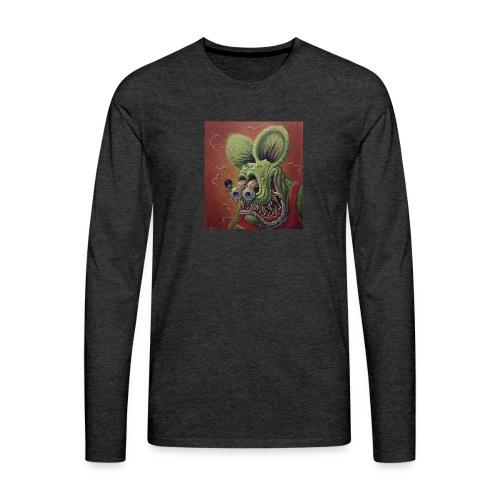 Rat hole - Camiseta de manga larga premium hombre