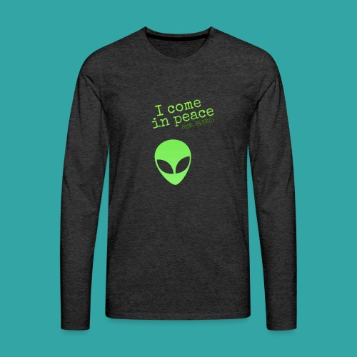 Alien beers - Men's Premium Longsleeve Shirt