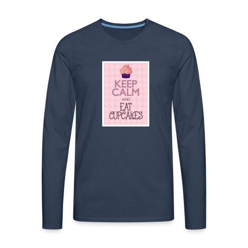 cupcake - Maglietta Premium a manica lunga da uomo