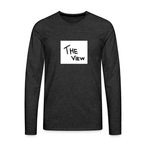 Untitled - Mannen Premium shirt met lange mouwen