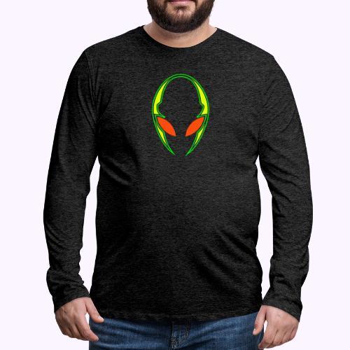 Alien Tech - Miesten premium pitkähihainen t-paita