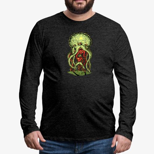 Außerirdischer Angriff - Männer Premium Langarmshirt
