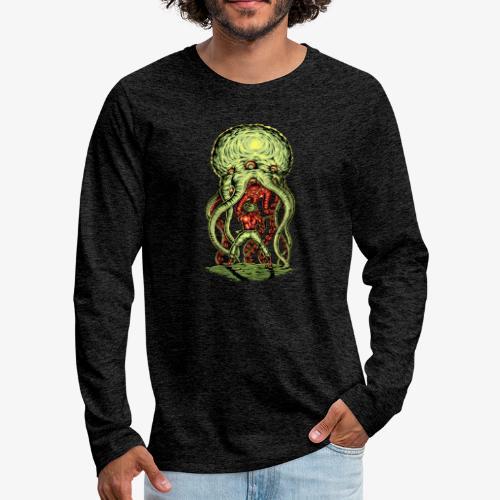 Attaque extraterrestre - T-shirt manches longues Premium Homme