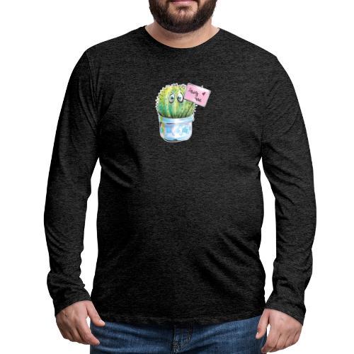 hug me - Männer Premium Langarmshirt