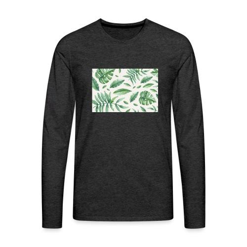 LEAVES - T-shirt manches longues Premium Homme