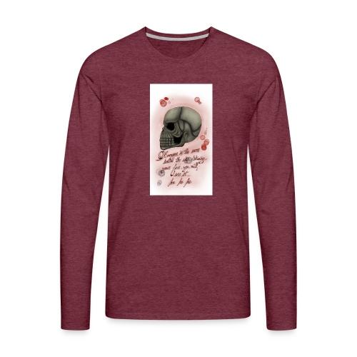 Sketch182181946-png - Camiseta de manga larga premium hombre