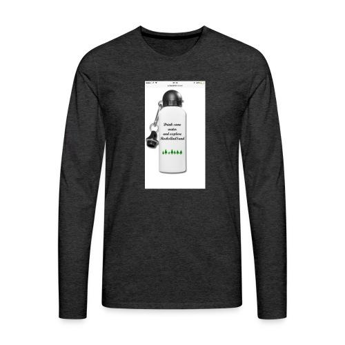 RocksAndSand adventure bottle - Men's Premium Longsleeve Shirt