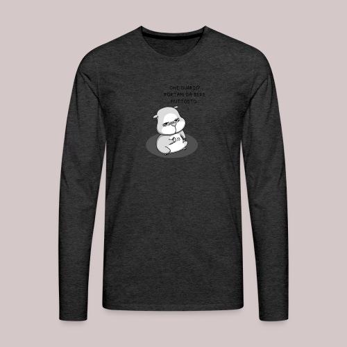 drunk_Hamster - Maglietta Premium a manica lunga da uomo