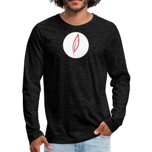 Logo - Rond blanc - T-shirt manches longues Premium Homme