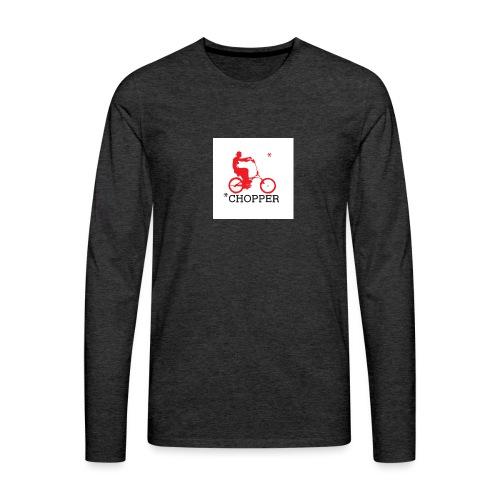 badge005 - T-shirt manches longues Premium Homme