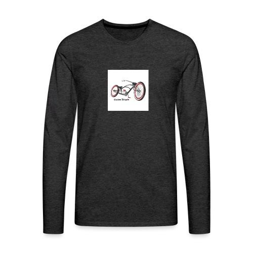 badge007 - T-shirt manches longues Premium Homme