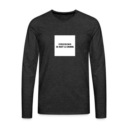 badge009 - T-shirt manches longues Premium Homme