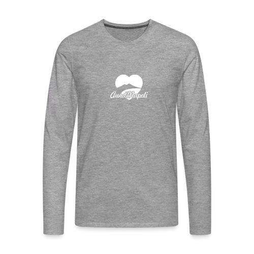 CuordiNapoli - Maglietta Premium a manica lunga da uomo