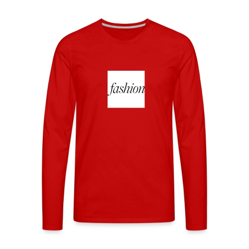fashion - Mannen Premium shirt met lange mouwen