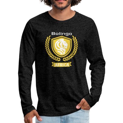 bolingo jaune - T-shirt manches longues Premium Homme