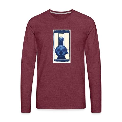 Lok Lantern - Miesten premium pitkähihainen t-paita