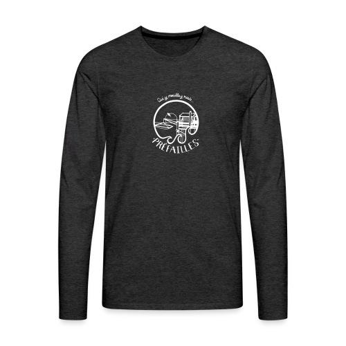 Les pêcheries de Prefailles - T-shirt manches longues Premium Homme
