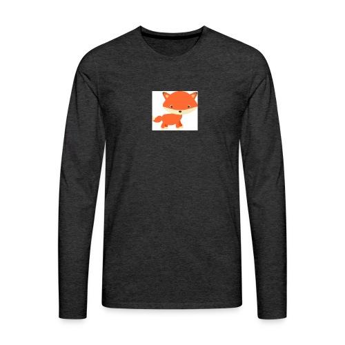fox_1 - Mannen Premium shirt met lange mouwen