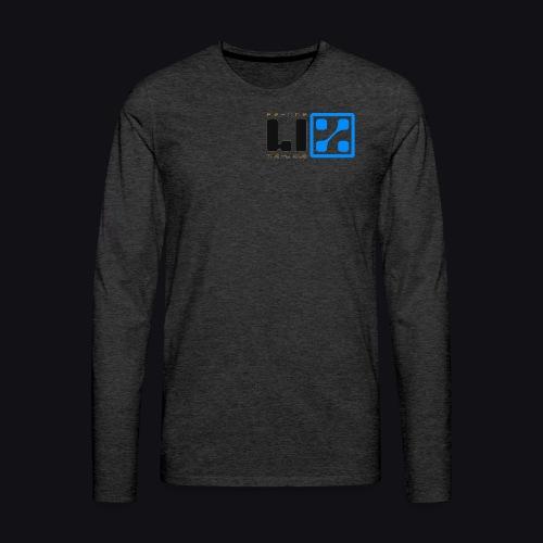 LIZ Before the Plague (Logo) - Maglietta Premium a manica lunga da uomo