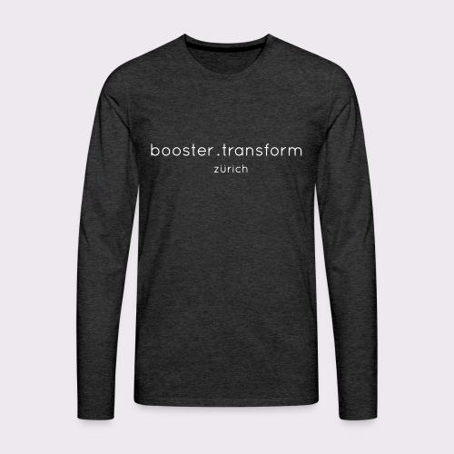 booster.transform zürich - Men's Premium Longsleeve Shirt