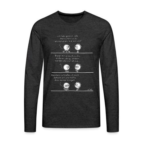 Alle akzeptieren - Männer Premium Langarmshirt