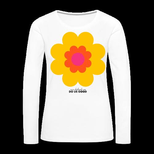 BIG SUNSHINE - Naisten premium pitkähihainen t-paita