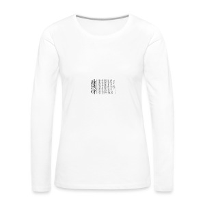 Irish proclamation - Women's Premium Longsleeve Shirt
